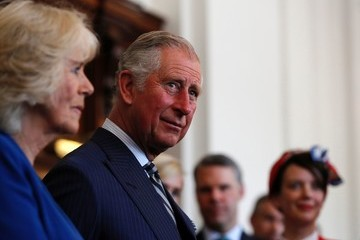 Prince Charles Prince Charles and Wife Camilla Tour Recently Refurbished Canada House