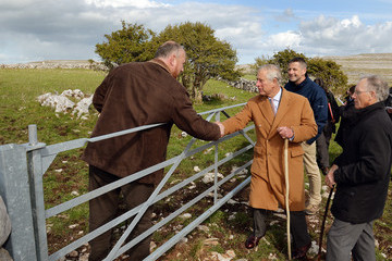 Prince Charles Prince of Wales and the Duchess of Cornwall's Irish Trip Day One