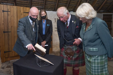 Prince Charles The Duke And The Duchess Of Rothesay Visit Scotland