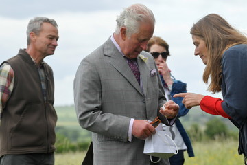 Prince Charles The Prince Of Wales Visits FarmED