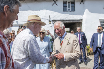 Prince Charles The Prince Of Wales And The Duchess Of Cornwall Visit Devon And Cornwall - Day Three