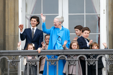 Prince Christian of Denmark Queen Margrethe II of Denmark and Family Celebrate Her Majesty's 76th Birthday