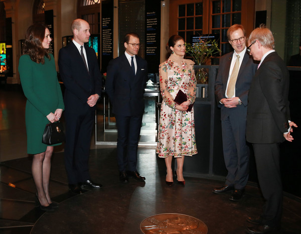 The Duke and Duchess of Cambridge Visit Sweden and Norway - Day 1 [event,suit,formal wear,tuxedo,duchess,sweden,norway,duchess of cambridge,cambridge,duke,catherine,prince william,victoria,daniel]