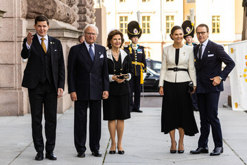 Prince Daniel Swedish Royals Attend The Opening Of The Swedish Parliament