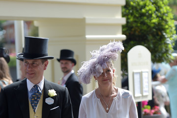 Prince Edward Countess of Wessex 2021 Royal Ascot - Day Two