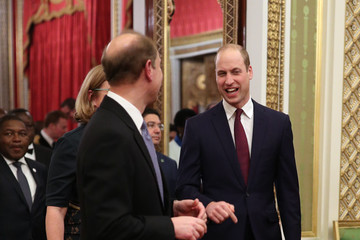 Prince Edward Prince William The Duke And Duchess Of Cambridge Host A Reception To Mark The UK-Africa Investment Summit