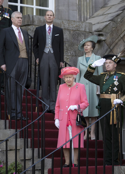 The Queen Hosts Garden Party At Palace Of Holyroodhouse