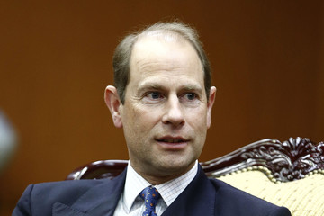 Prince Edward Prince Edward Visits South Korea