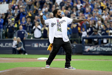 Prince Fielder League Championship Series - Los Angeles Dodgers vs. Milwaukee Brewers - Game Two