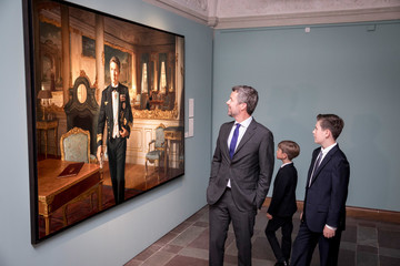 Prince Frederik Portrait Unveiling And Exhibition Opening At Frederiksborg Palace