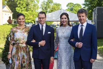 Prince Frederik Of Denmark Danish Royals Visit Sweden - Day 1