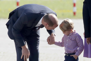 Prince George The Duke and Duchess of Cambridge Visit Germany - Day 3