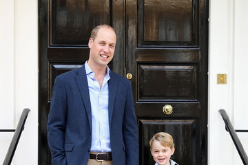 Prince George Prince George Attends Thomas's Battersea on His First Day at School