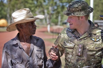 Prince Harry Prince Harry On Military Secondment With Australian Defence Force
