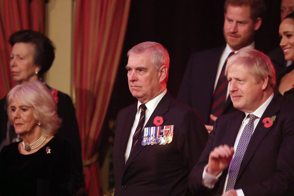 The Queen And Members Of The Royal Family Attend The Royal British Legion Festival Of Remembrance