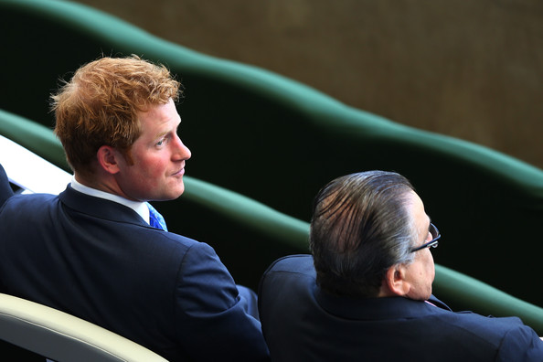 Prince Harry Prince Harry during the 2014 FIFA World Cup Brazil Group D match between Costa Rica and England at Estadio Mineirao on June 24, 2014 in Belo Horizonte, Brazil.