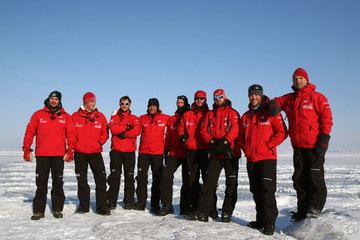 Henry Cookson Prince Harry Joins Walking With The Wounded Expedition