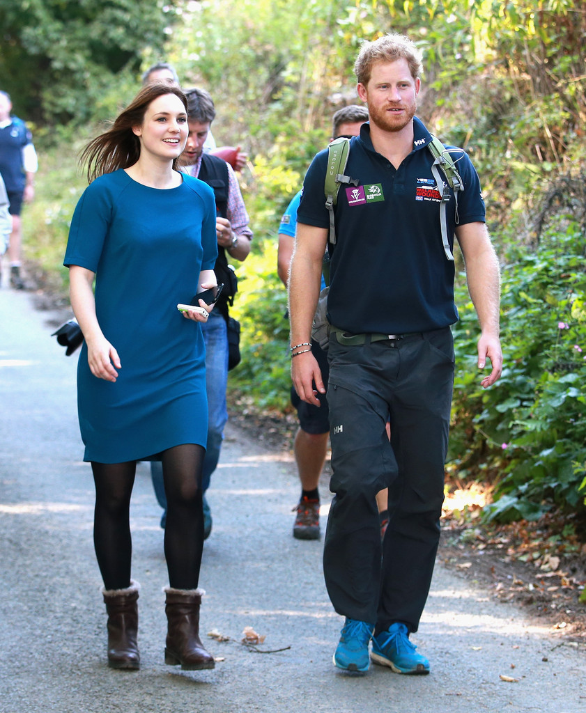 Prince Harry Photos Photos - Prince Harry Joins Walking ...