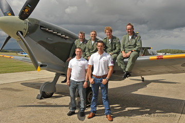 Prince Harry Prince Harry Flies in a Spitfire