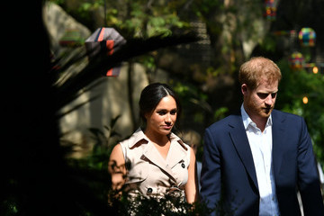 Prince Harry Meghan Markle The Duke And Duchess Of Sussex Visit Johannesburg - Day Two