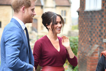 Prince Harry Meghan Markle The Duke & Duchess of Sussex Attend a Roundtable Discussion on Gender Equality with The Queens Commonwealth Trust