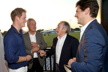 Prince Harry Philip Green Sentebale Polo Cup Arrivals