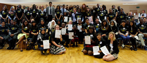 Prince Harry Prince Harry (R) poses for a picture during a visit to Bethnal Green Academy where he joined a group of 60 students from schools across east London who will be receiving training to become digital media champions for the Invictus Games on July 21, 2014 in London, England.  The Invictus Games is an international sports event for wounded warriors launched by Prince Harry which is coming to London from 10-14 September 2014.
