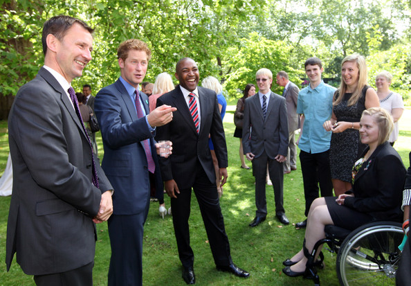 Prince Harry Hosts Reception for School Games Athletes