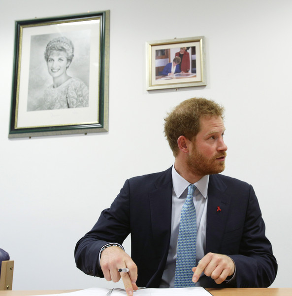 Prince Harry Visits Mildmay
