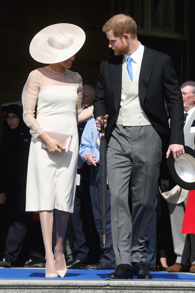 The Prince Of Wales' 70th Birthday Patronage Celebration [fashion accessory,suit,shoulder,fashion,formal wear,flooring,product,headgear,event,gentleman,harry,the prince of wales,meghan,l-r,prince of wales,sussex,duchess,buckingham palace,duke of sussex,birthday patronage celebration]