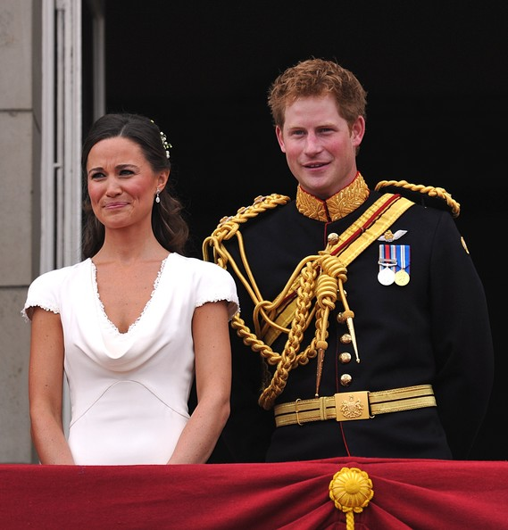 Prince Harry - Royal Wedding - The Newlyweds Greet Wellwishers From The Buckingham Palace Balcony