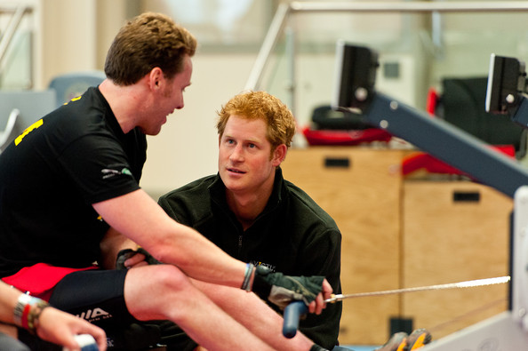 Prince Harry Prince Harry (R) meets Veteran Jonathon (Frenchie) Le Galloudec (L) at the launch of the Invictus Games selection process at Tedworth House on April 29, 2014 in Tidworth, Wiltshire, England.