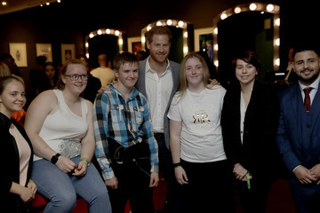 Prince Harry The Duke Of Sussex Attends The Inaugural OnSide Awards