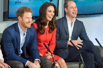 Prince Harry The Duke & Duchess of Cambridge and Prince Harry Officially Open the Global Academy