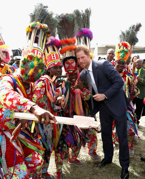 Prince Harry Visits The Caribbean