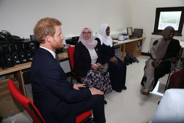 Prince Harry The Duke of Cambridge and Prince Harry Visit The Support4Grenfell Community Hub