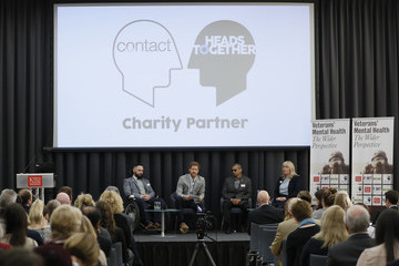 Prince Harry Prince Harry Attends Veterans' Mental Health Conference With Heads Together
