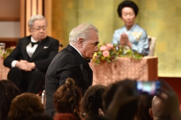 Prince Hitachi Martin Scorsese is Honored at the Awards Ceremony at the 28th Praemium Imperiale in Tokyo