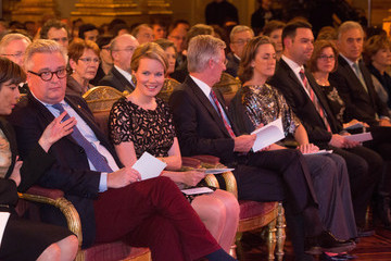 Prince Laurent Autumn Concert at the Royal Palace in Brussels