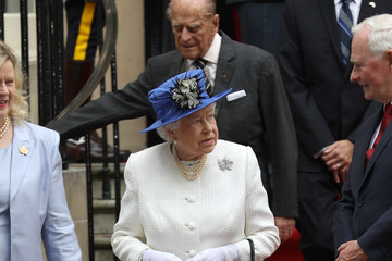 Prince Philip The Queen and Duke Of Edinburgh Visits Canada House