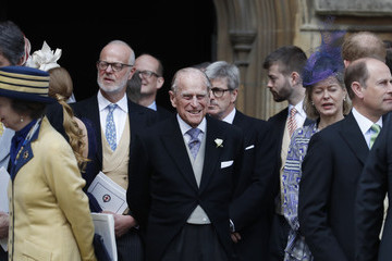 Prince Philip The Wedding Of Lady Gabriella Windsor And Mr. Thomas Kingston