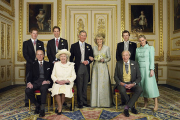 Prince Philip Prince Charles In Focus: Official Portraits of the Queen and Her Family Through The Years