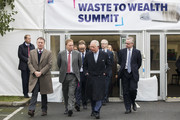 Prince Charles, Prince of Wales and Secretary of State for Environment, Michael Gove (R) attend a Waste-To-Wealth Summit at Southwark Integrated Waste Management Facility on November 22, 2018 in London, England.The Prince of Wales, President and Royal Founding Patron of Business in the Community (BITC.), will attend BITC's Waste-to-Wealth Summit. BITC is convening the Waste-to-Wealth Summit at which 200 leaders from business, government, academia and civil society will come together to tackle one of the challenges of our time; to commit to work collectively to create new solutions that will increase resource productivity and reduce avoidable waste.