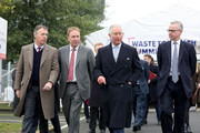 Prince Charles, Prince of Wales (2nd R) and Secretary of State for Environment, Michael Gove (R) arrive to attend a Waste-To-Wealth Summit at Southwark Integrated Waste Management Facility on November 22, 2018 in London, England..The Prince of Wales, President and Royal Founding Patron of Business in the Community (BITC.), will attend BITC's Waste-to-Wealth Summit. BITC is convening the Waste-to-Wealth Summit at which 200 leaders from business, government, academia and civil society will come together to tackle one of challenges of our time; to commit to work collectively to create new solutions that will increase resource productivity and reduce avoidable waste.