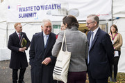 Prince Charles, Prince of Wales attends a Waste-To-Wealth Summit at Southwark Integrated Waste Management Facility on November 22, 2018 in London, England.The Prince of Wales, President and Royal Founding Patron of Business in the Community (BITC.), will attend BITC's Waste-to-Wealth Summit. BITC is convening the Waste-to-Wealth Summit at which 200 leaders from business, government, academia and civil society will come together to tackle one of the challenges of our time; to commit to work collectively to create new solutions that will increase resource productivity and reduce avoidable waste.