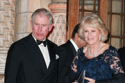 Prince Charles, the Prince of Wales and Camilla, Duchess of Cornwall attend a reception and dinner for supporters of The British Asian Trust at the Natural History Museum on February 2, 2016 in London, England.