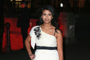 Konnie Huq attends a reception and dinner for supporters of The British Asian Trust at the Natural History Museum on February 2, 2016 in London, England.