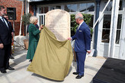 Prince Charles, Prince of Wales and Camilla, Duchess of Cornwall attend the reopening of Hillsborough Castle on April 09, 2019 in Belfast, Northern Ireland.