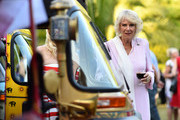 The Prince of Wales and Duchess of Cornwall Host the 'Travels To My Elephant' Royal Richshaw Event