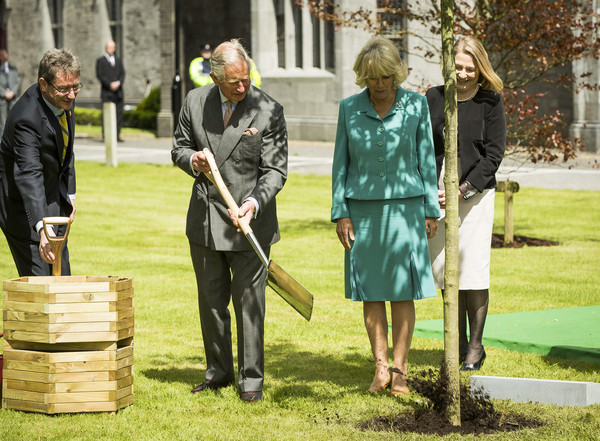 Prince of Wales and the Duchess of Cornwall's Irish Trip Day One